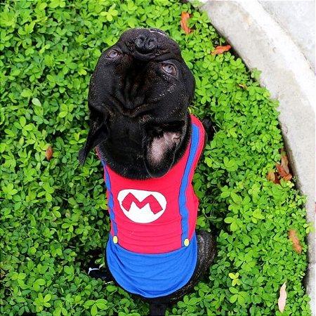 Fantasia Super Mario Dog - Feminina e Masculina