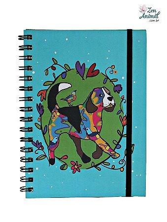 Caderno Espiral Beagles