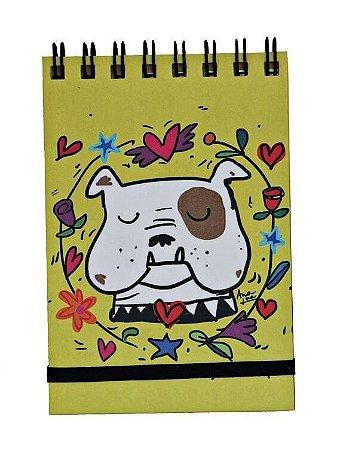 Bloquinho de Anotações Bulldog Inglês