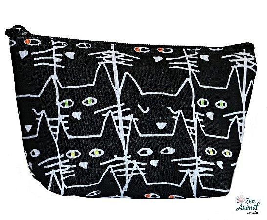 Necessaire Black Cat