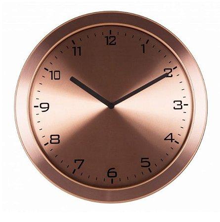 Relógio de Parede Rosê Gold