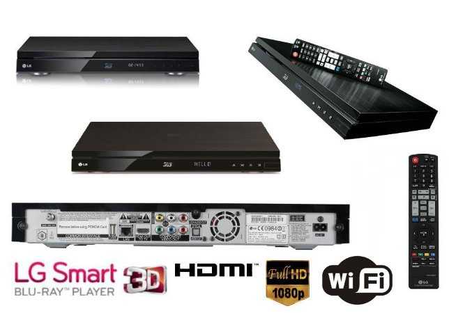 LG Smart Full HD 3D Blu-Ray Player