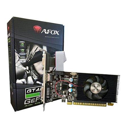 Placa De Vídeo Geforce Ddr3 4Gb/128 Bits Gt 420 Afox, Af420-4096D3L5