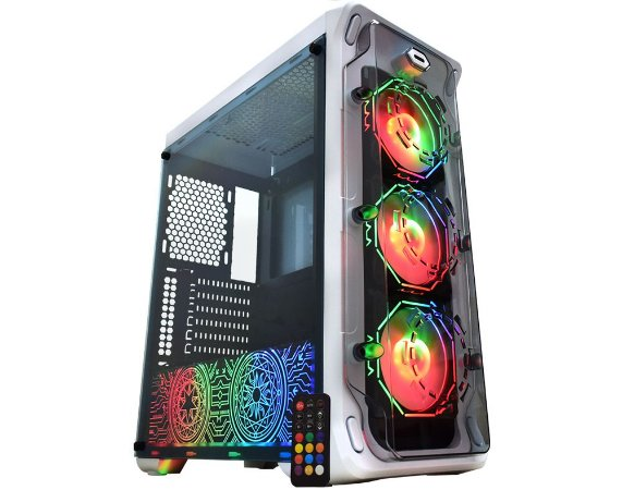 Pc Gamer Intel I5-10400F, Gigabyte H410M H, Ssd 240Gb Kingston, Mem 16G Winmemory, Kmex 04B1, Fonte 550 Gigabyte, Gt1030