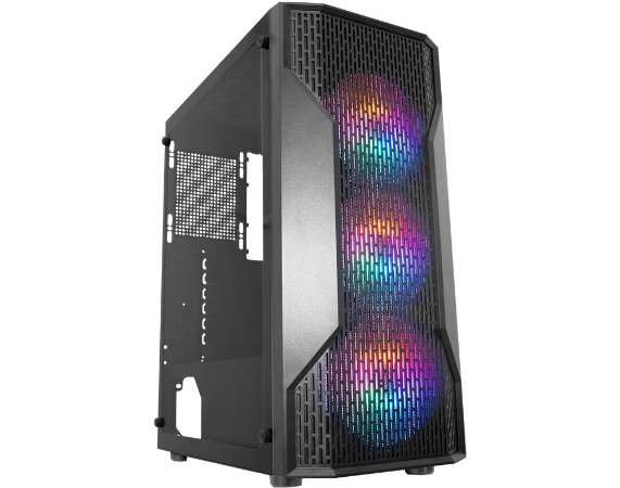 Pc Gamer Intel I5-10400F, Gigabyte H410M H, M2 480 Kingston, Mem 16G Winmemory, Kmex A1Z5, Fonte 550 Gigabyte, Gtx1050Ti