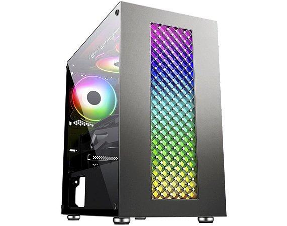 Pc Gamer Intel I7-9700F, Asus Tuf B360M, Ssd 240Gb Kingston, Mem. 8Gb Winmemory, Kmex 01Ru, Fonte 450 Corsair, Rx550