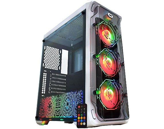 Pc Gamer Amd Ryzen 3700X, Asus B450M Gaming, Ssd M2 250Gb Wd, Mem 8Gb Winmemory, Kmex 04B1, Fonte 450 Corsair, Gt420