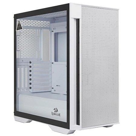Pc Gamer Intel I5-10400F, Gigabyte H410M H, Ssd 480G Kingston, Mem 8G Hyperx, Redragon Gc706W, Fonte 550 Gigabyte, Rx550