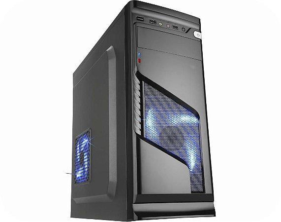 Pc Gamer Amd Ryzen 3200G, Asus B450M Gaming, Ssd Nvme 500Gb Kingston, Mem 8Gb Xpg, Kmex 02R6, Fonte 500 Bluecase