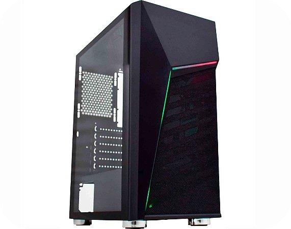 Pc Gamer Amd Ryzen 5600G, Gigabyte A520M, Ssd Nvme 500Gb Wd, Mem 8Gb Hyperx, Kmex 01C1, Fonte 500 Bluecase