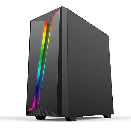 Pc Gamer Amd Ryzen 5600G, Gigabyte A520M, Ssd 480Gb Kingston, Mem 8Gb Hyperx, Bluecase Bg038, Fonte 550 Corsair