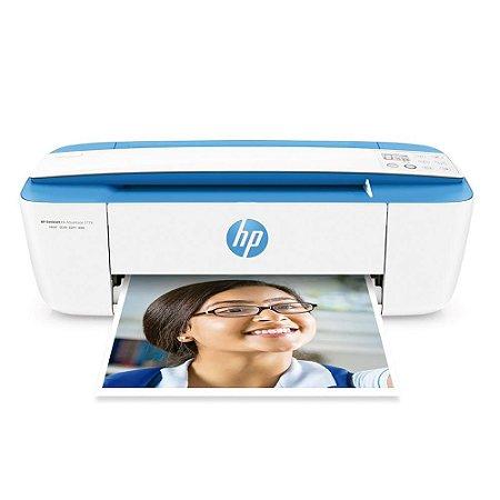 Impressora Multifuncional Hp 3776 Deskjet Ink Advantage, Jato Tinta, Wifi, Colorida, Bivolt