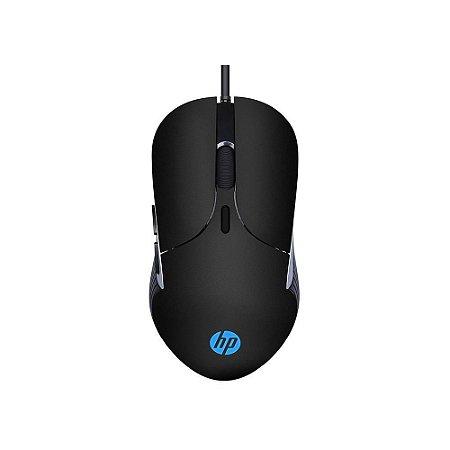 Mouse Gamer Hp M280, Led, 6 Botões, 2.400 Dpi, Preto, 7Zz83Aa#Abm