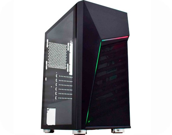 Pc Gamer Intel I3-10100F, Gigabyte H410M H, Nvme 120Gb Bluecase, Mem 8Gb Hyperx, Kmex 01C1, Fonte 450 Corsair, Gtx1650