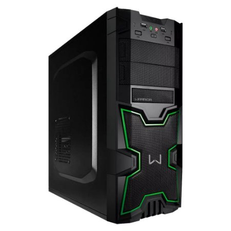 GABINETE WARRIOR GAMER GA154 S/FONTE MULTILASER