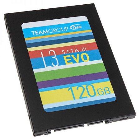 SSD 120 GB TEAM GROUP L3 EVO SATA III 2,5 POLEGADAS GARANTIA: 90 DIAS