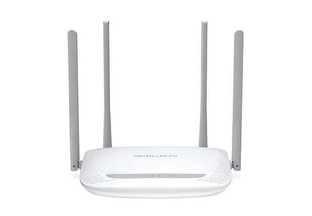 Roteador Mercusys Mw325R, Wireless, Single Band 2.4 Ghz, 300 Mb/S, 4 Antenas
