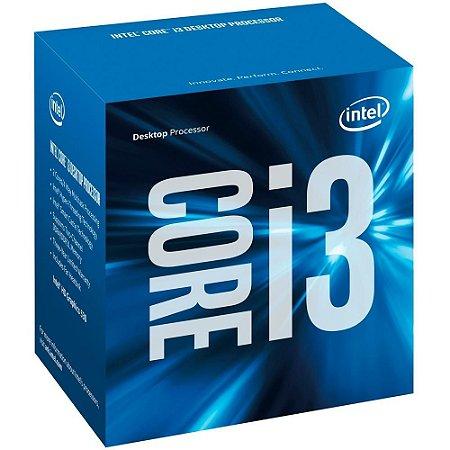 Processador 1151 Intel 6ª Geração Core I3-6100 3.7Ghz 3Mb Cache Box
