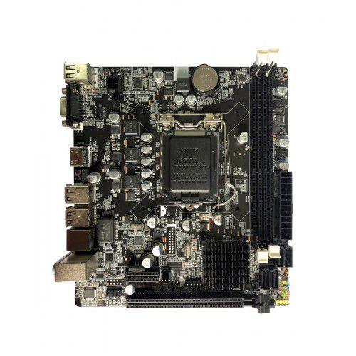 PLACA MAE 1155 BLUECASE BMBH61-D BULK DDR3 16GB / VGA / HDMI GARANTIA: 90 DIAS