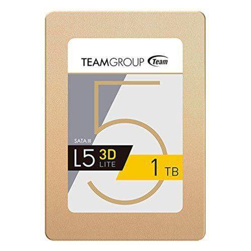 "SSD 1 TB TEAM GROUP L5 LITE 3D SATA III 2,5"" POLEGADAS GARANTIA: 3 MESES TIBURON"