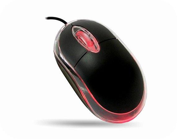 MOUSE OPTICO MODELO MO-M833 USB  PRETO GARANTIA: 30 DIAS