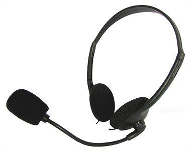 Fone De Ouvido Kmex Preto Ar-S3936 C/ Microfone Headset