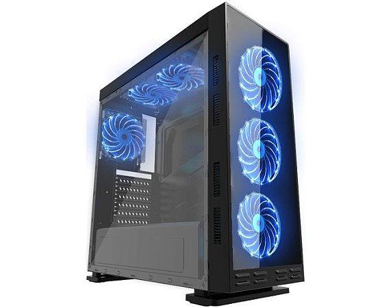 COMPUTADOR GAMER TIBURON INTEL I7-7700, MEMORIA 16GB, SSD 980GB, PLACA MAE 7ª GER, VGA 2 GB, GAB. GAMER KMEX, FONTE 600W