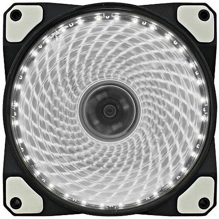 Cooler Fan Gamemax GF12W 120x120x25mm 32LEDs Transparente