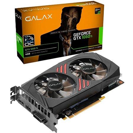 Placa De Video Ddr5 4Gb/128 Bits Galax Geforce Gtx 1050Ti 1 Click Oc Dp/Hdmi/Dvi 50Iqh8Dsc7Cb