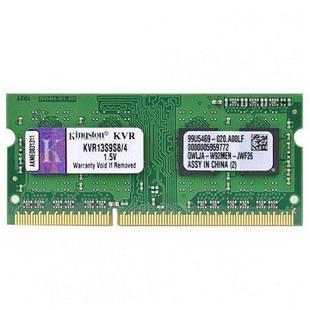 Memoria Notebook Ddr3 4Gb/1333 Mhz Kingston Kvr13S9S8/4