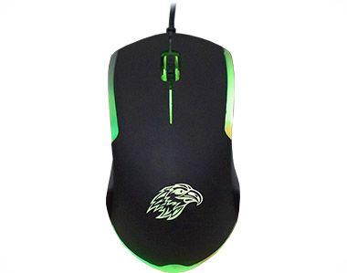 Mouse Usb Pc Gamer Kmex Mo-Y233 Elite Leds De 3 Cores