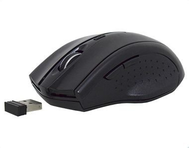 Mouse Wireless Kmex Mac233 Pc Gamer 6 Botoes Dpi 800/1200/1600