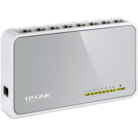 Switch 08 Portas Tp-Link Tl-Sf1008D 10/100Mbps