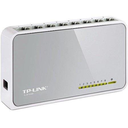 Switch 08 Portas Tp-Link Tl-Sf1008D 10/100Mbps