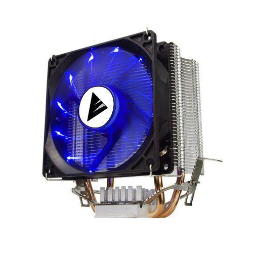 Cooler Universal Para Processador Gamer, Intel E Amd, Bluecase Bcg-05Ucb, Alumínio E Cobre, Led Azul