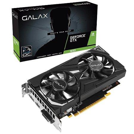 Placa De Video Ddr5 4Gb/128 Bits Galax Gtx 1650 65Sqh8Ds08Ex