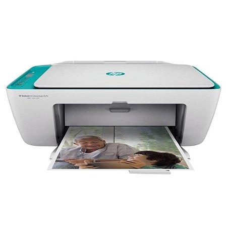 Impressora Multifuncional Hp 2676 Deskjet Ink Advantage Aio Wifi, Colorida, Bivolt