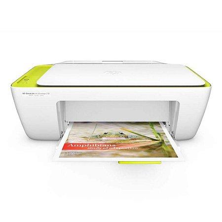 Impressora Multifuncional Hp 2136 Deskjet Jato De Tinta, Color, Bivolt