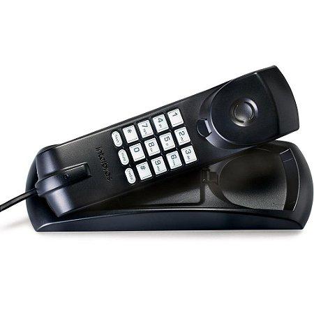 Telefone Intelbras Gondola Tc-20 Preto C/Fio