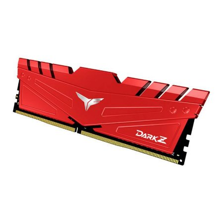 Memoria Desktop Ddr4 8Gb/3200 Mhz Team Group Tdzrd48G3200Hc16C01 T-Force Dark Z Red
