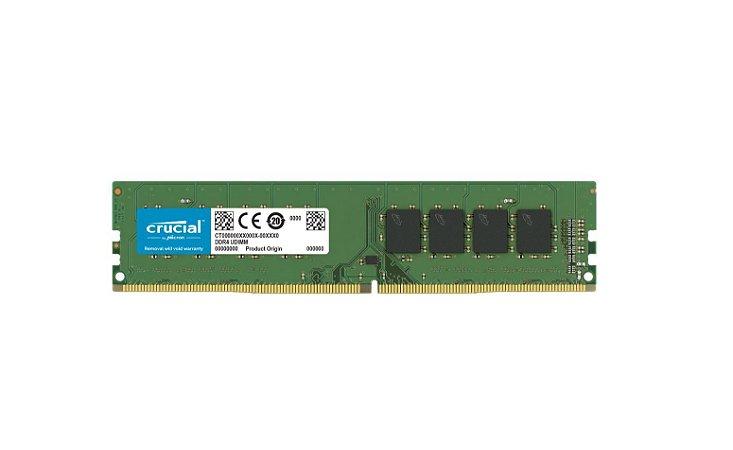 Memoria Desktop Ddr4 8Gb/2666 Mhz Crucial Cl19 1.2V Ct8G4Dfs8266