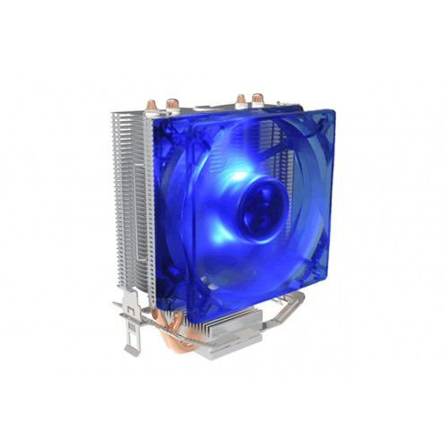 Cooler Universal Gamer Intel E Amd Bluecase Bcg-03Ucb, Cobre, Com Led Azul