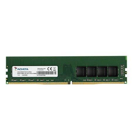 Memória Desktop Ddr4 8Gb/2666 Mhz Adata, Ad4U266638G19-S, 1.2V