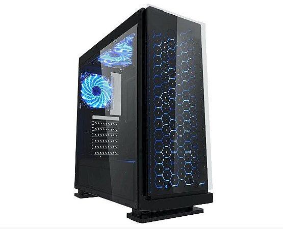 Pc Gamer Intel 9100f, Mem. 8Gb Adata, Ssd 240Gb King., Placa Mae 9ª Ger Gigabyte, Gab. CG-7ev3, Fonte 500W, Vga Rx570