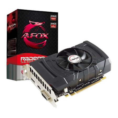 Placa De Video Ddr5 2 Gb/128 Bits Afox Rx550, Afrx550-2048D5H3
