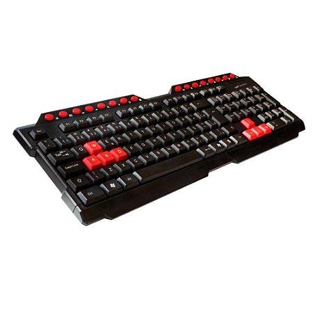 Teclado Gamer C3Tech Kg-10Bk, Usb, Preto, Abnt2, Membrana