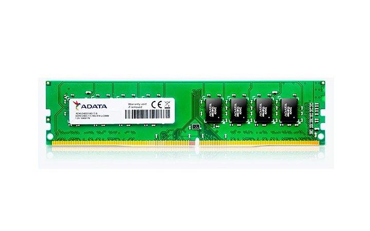 Memoria Desktop Ddr4 4Gb/2400 Mhz Adata Ad4U2400J4G17-S