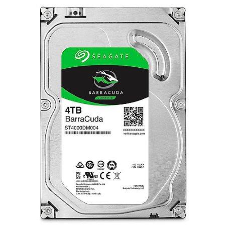 Hd Desktop 4 Tb Seagate St4000Dm004 Barracuda Sata6 5400Rpm 256Mb 3.5''