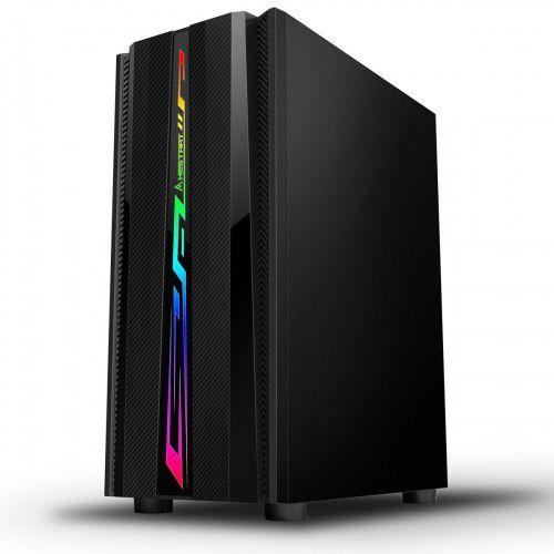 Pc Gamer Intel 9100F, Memória 16Gb, Ssd 120Gb Adata, Mb Gigabyte H310M, Gabinete Bluecase Bg-027, Fonte 750, Vga 1650
