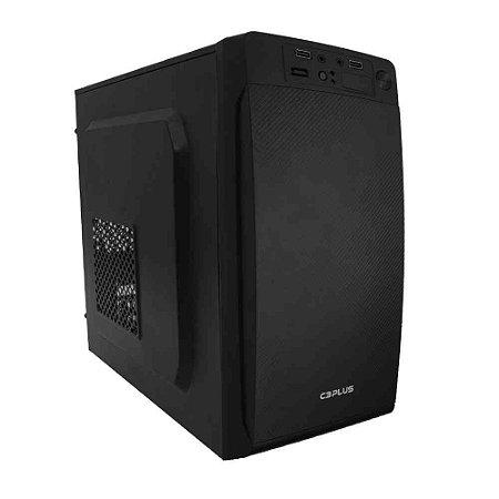 Gabinete Comum C3Tech Mt-11Bk, Micro-Atx, Com Fonte 200W, Preto